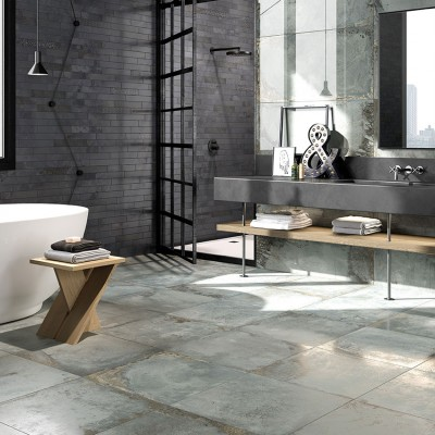 Oxyd Metal Effect Porcelain Tiles