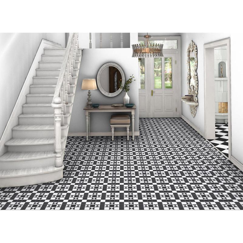 Flooring Tools Bristol: Bristol Black Vintage Tile