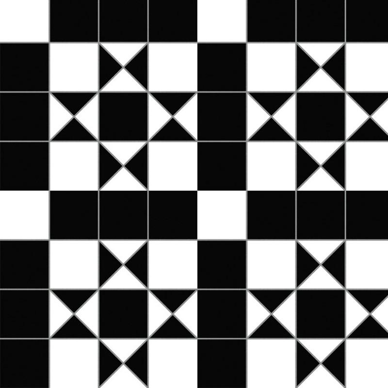 Bristol Black Vintage Tile