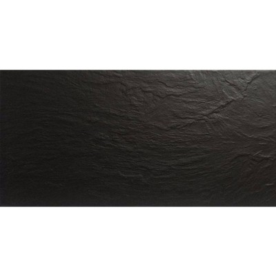 London Black Slate Effect Tile