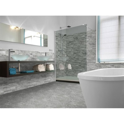 Marmi Grey Split Face Effect Tile
