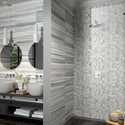 Palissandro Light Grey Mosaic