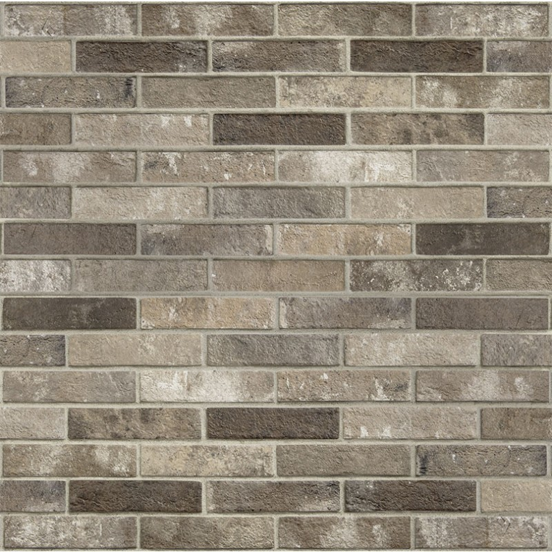London Brown Brick Tile