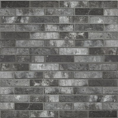 London Charcoal Brick Tile