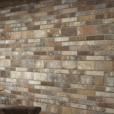 London Multicolour Brick Tile