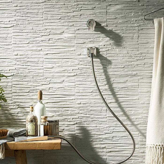 Intermezzo Grey Slate Effect Laminate Flooring 2 05 M: Cliff White