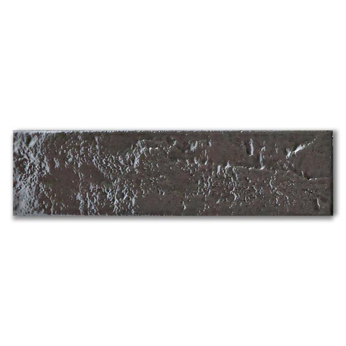 skyline dark grey metallic effect kitchen wall tile
